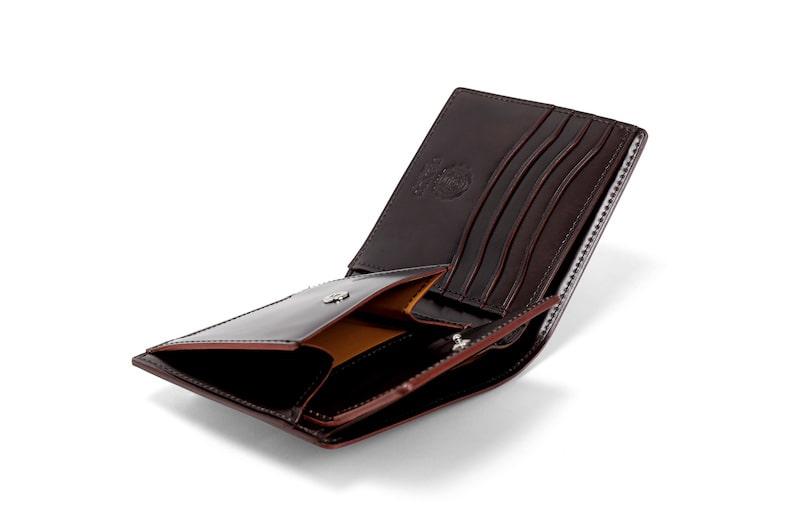 ガンゾ(コードバンルチダ) 二つ折り財布