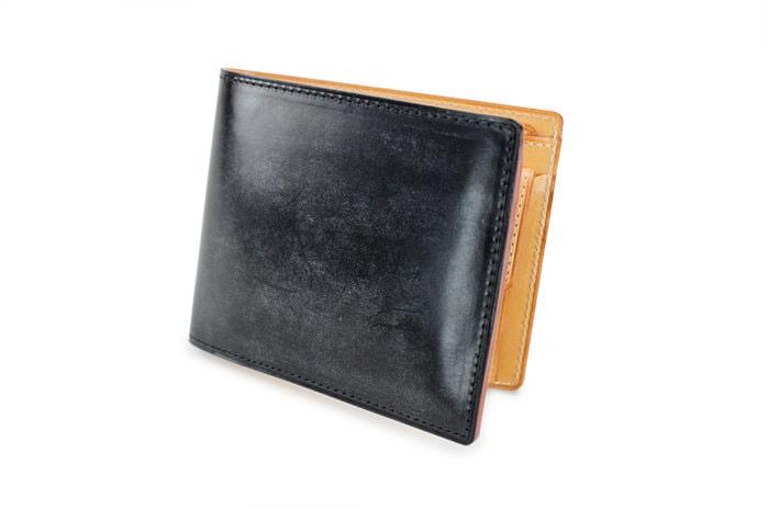 ガンゾ (シンブライドル) 小銭入れ付き二つ折り財布