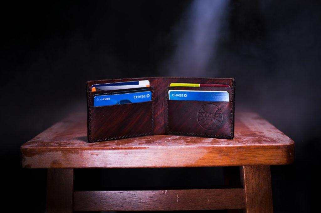 二つ折り財布のイメージ画像