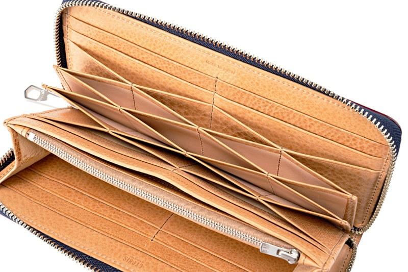 キプリスのハニーセル型の長財布