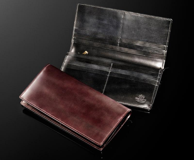 ココマイスターのシェルコードバン長財布