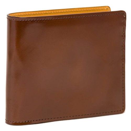 フライングホースのコードバン二つ折り財布