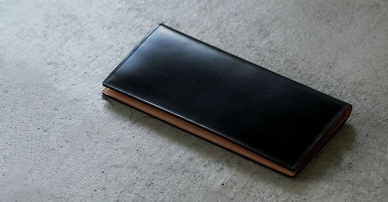 ガンゾのコードバン長財布