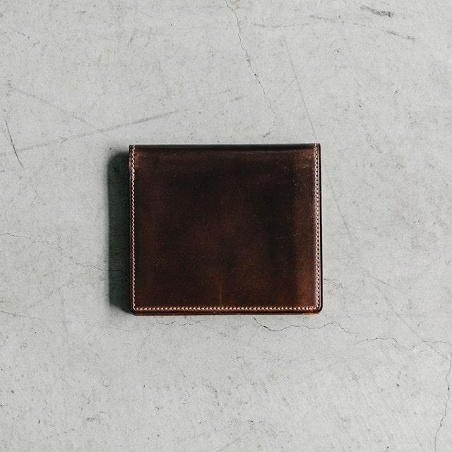 ガンゾの財布の経年変化の様子