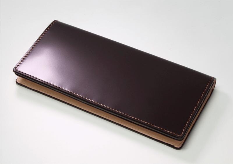 大峡製鞄のコードバン長財布