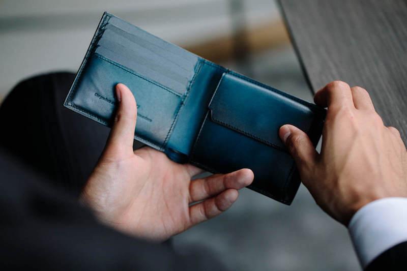 ユハクの二つ折り財布