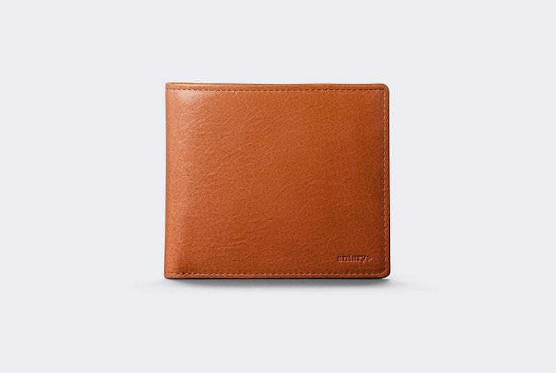 【アニアリー】アンティークレザーの二つ折り財布