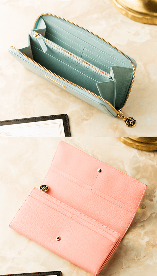 ココデュランのレディース長財布は可愛らしい上に上質な革を使用
