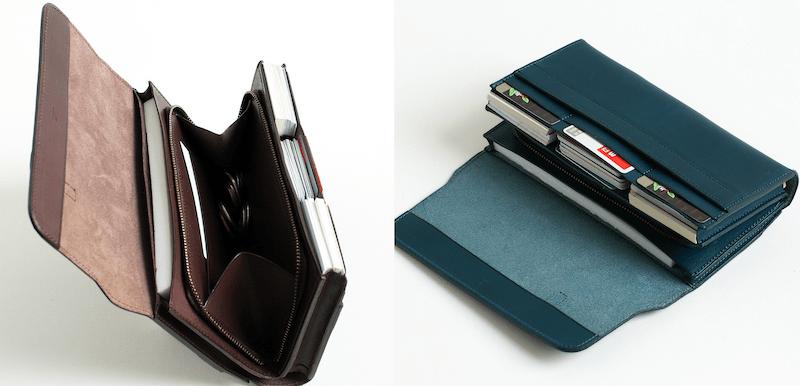 エムピウの長財布は大容量