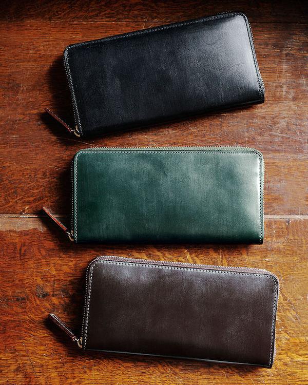 土屋鞄製造所のブライドルレザー 長財布