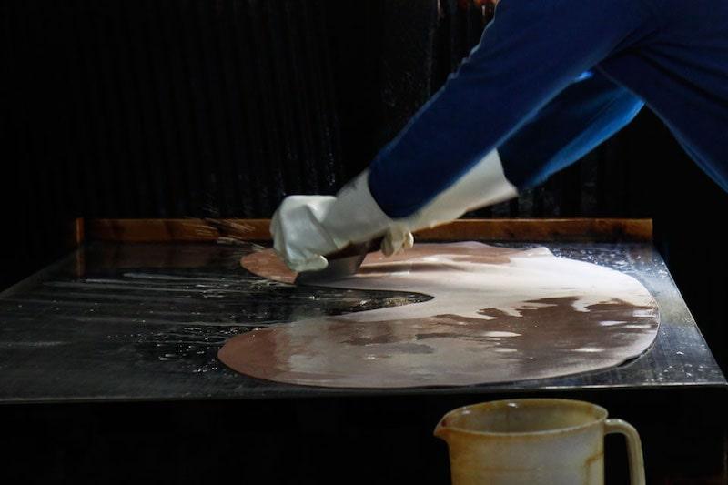 土屋鞄製造所のコードバンはレーデルオガワのものを使用
