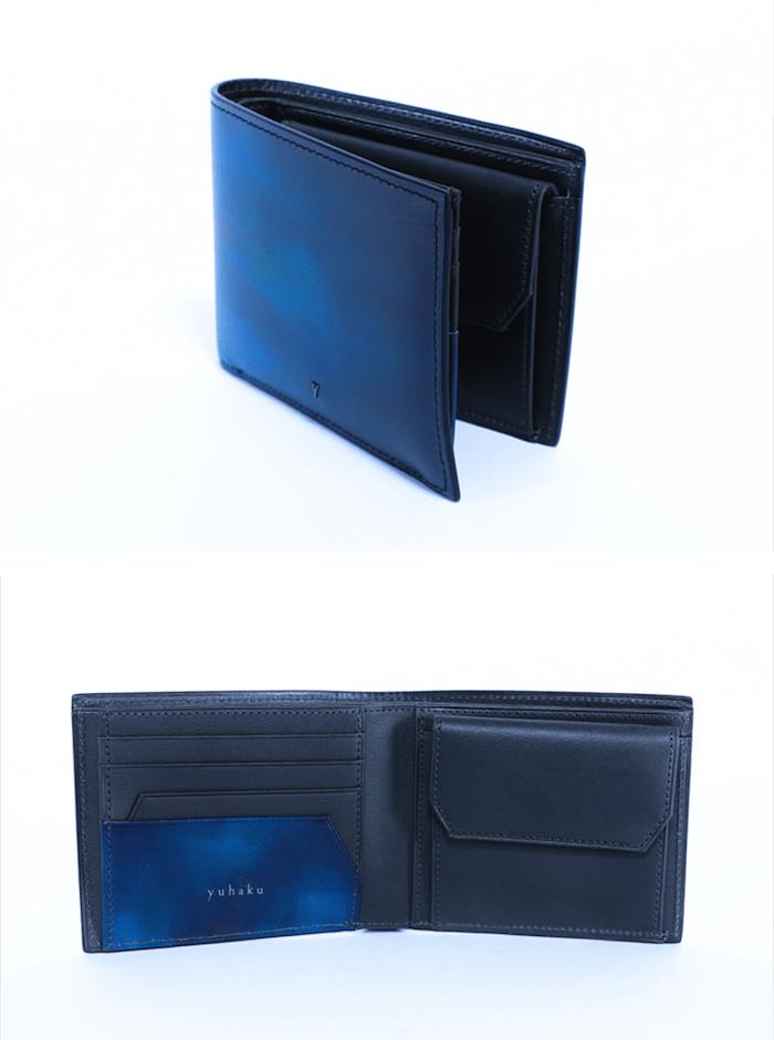 【ユハク】YPM137二つ折り財布