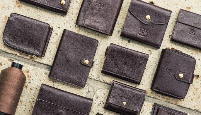 イルビゾンテの本革の二つ折り財布のイメージ