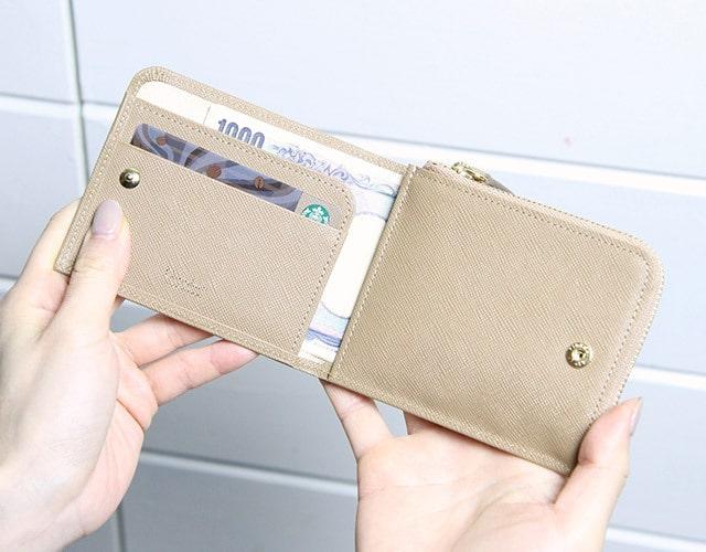 カルトラーレ革財布の内装