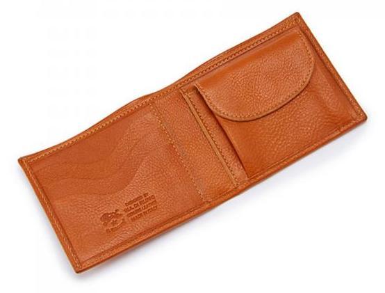 イルビゾンテ革財布の内装