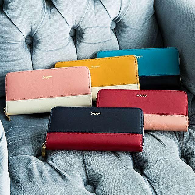 ジョッゴ革財布は配色をカスタマイズできる