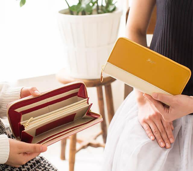 ジョッゴの1万円台レディース革財布