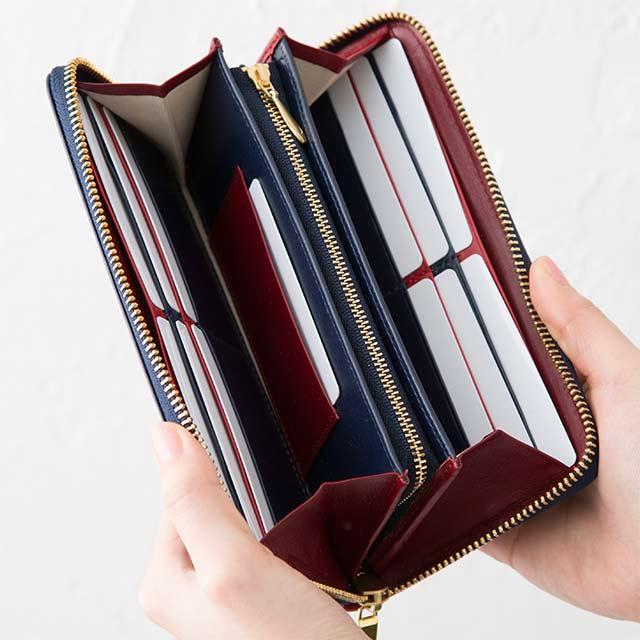 ジョッゴ革財布の内装