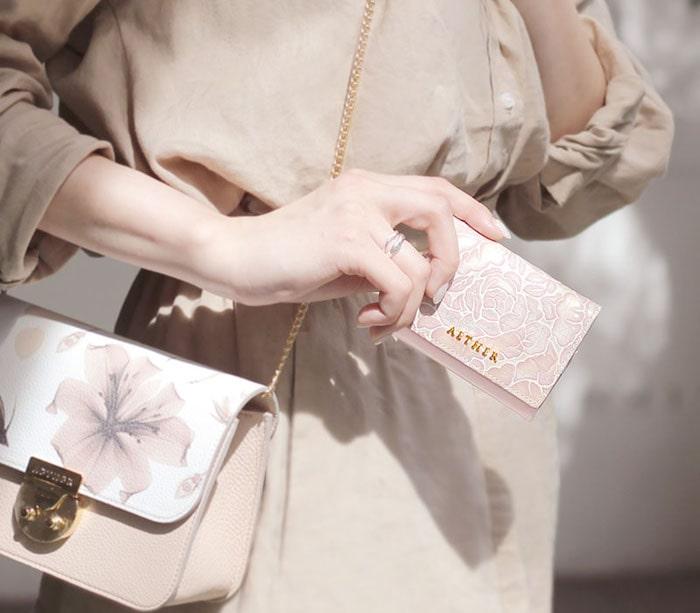 エーテルのレディースミニ財布