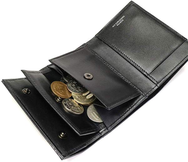 PORTERのミニ財布の内装