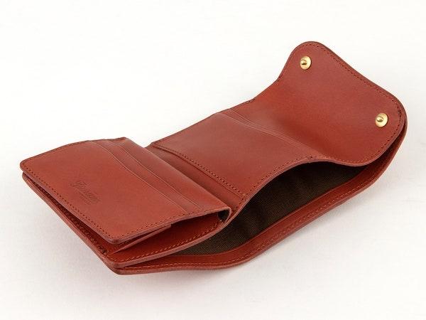 ツラネのミニ財布の内装