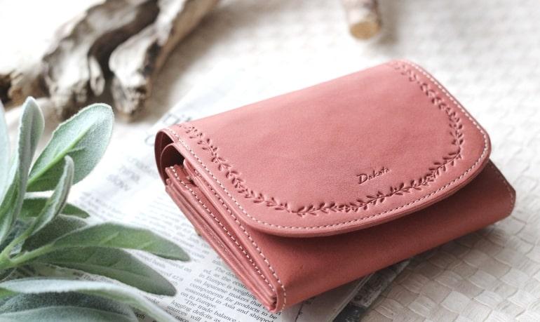 ダコタの10代〜20代向けの可愛らしいレディース二つ折り財布