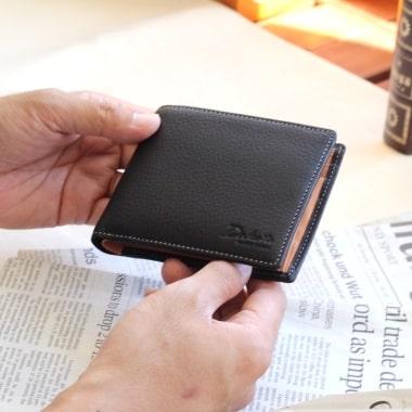 ダコタのメンズ向け二つ折り財布