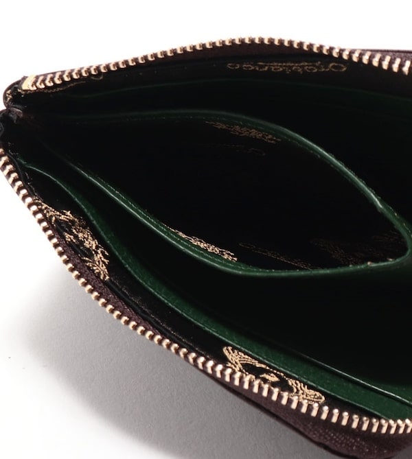 オロビアンコのランドファスナー財布の内装