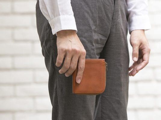 sliceのコンパクト財布