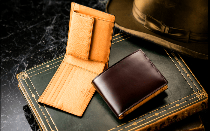 ココマイスターの革財布のイメージ
