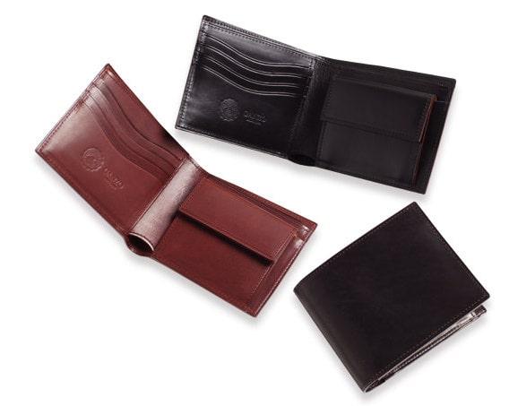 ganzoの牛革財布
