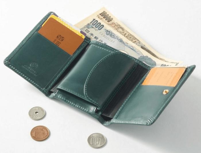 グレンロイヤルの三つ折り財布