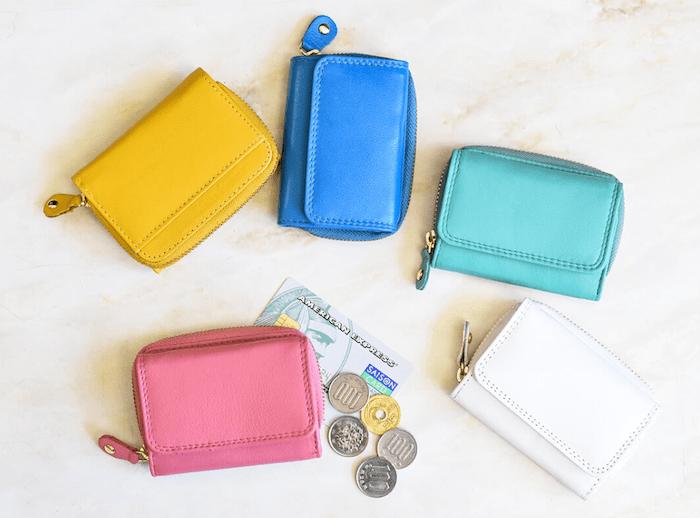 ハレルヤのレディースミニ財布