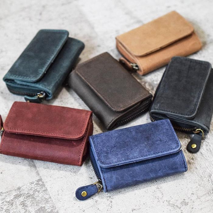 ハレルヤの三つ折り財布
