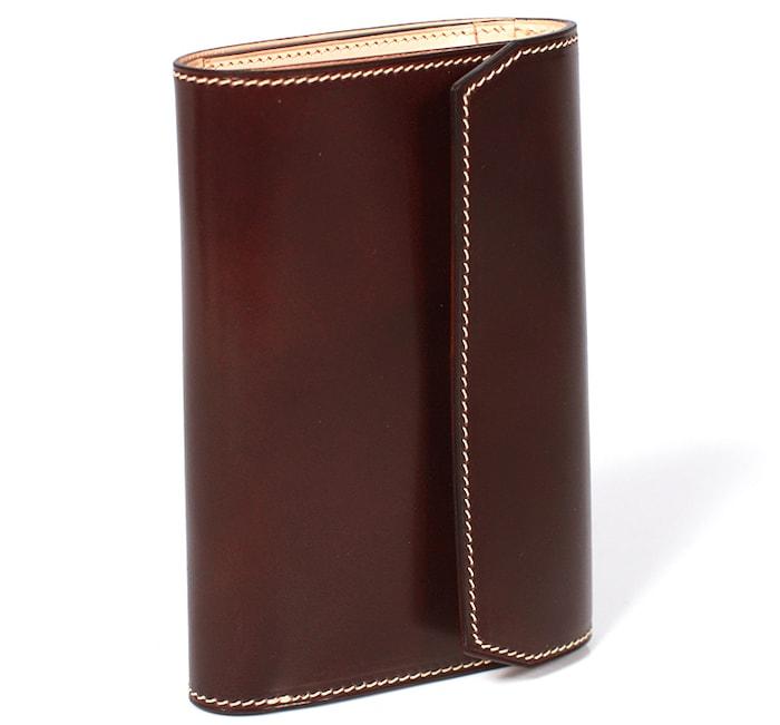 万双の三つ折り財布