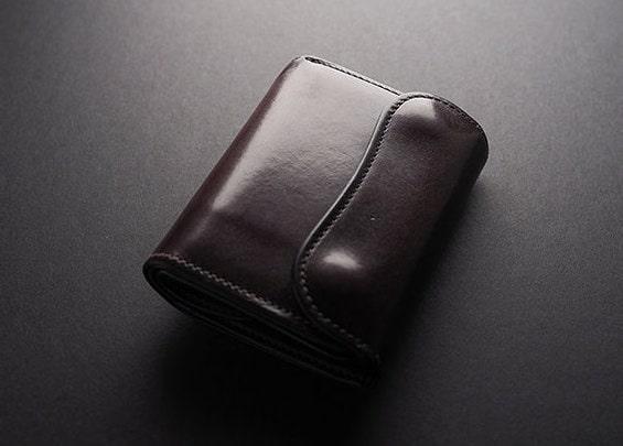 wildswansの牛革財布