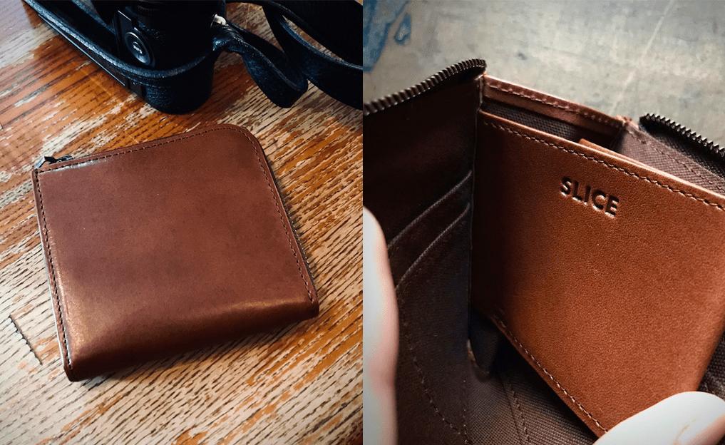 ミニマリストに人気!《Slice》鍵ポケット付きコンパクト財布をレビュー