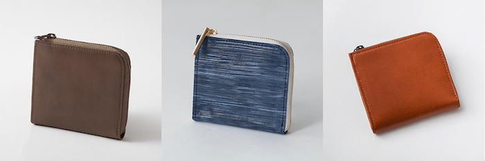 sliceのコンパクト財布は3種類ある