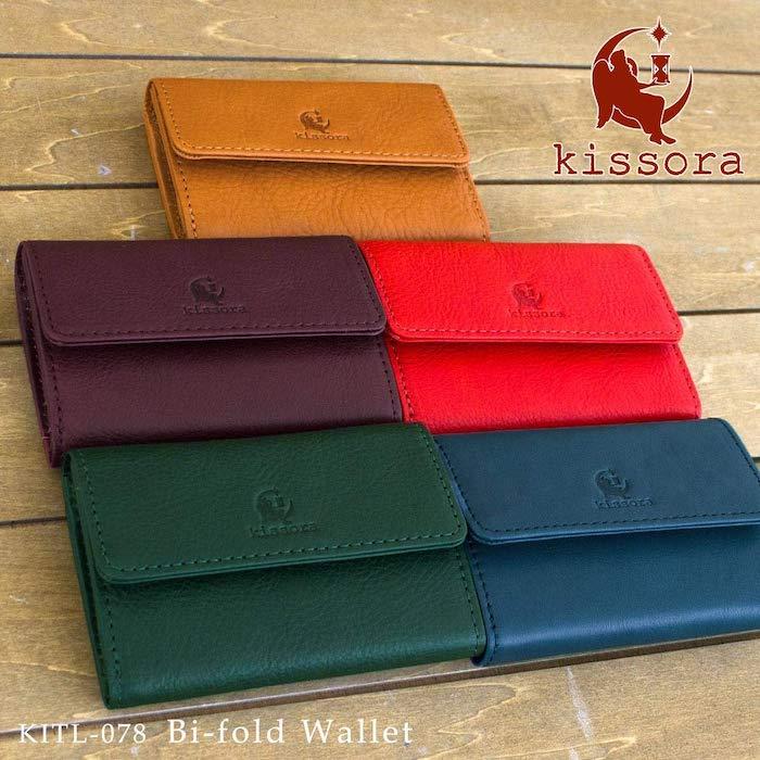 キソラのレディース三つ折り財布