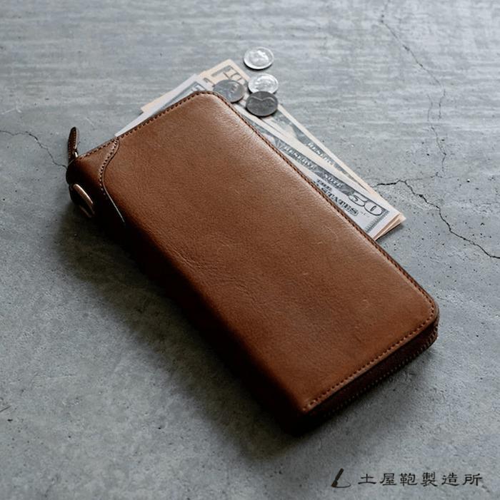 土屋鞄製造所のビークル長財布バナー