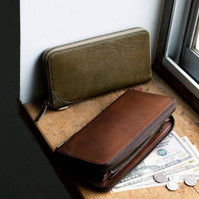 土屋鞄製造所のビークル長財布