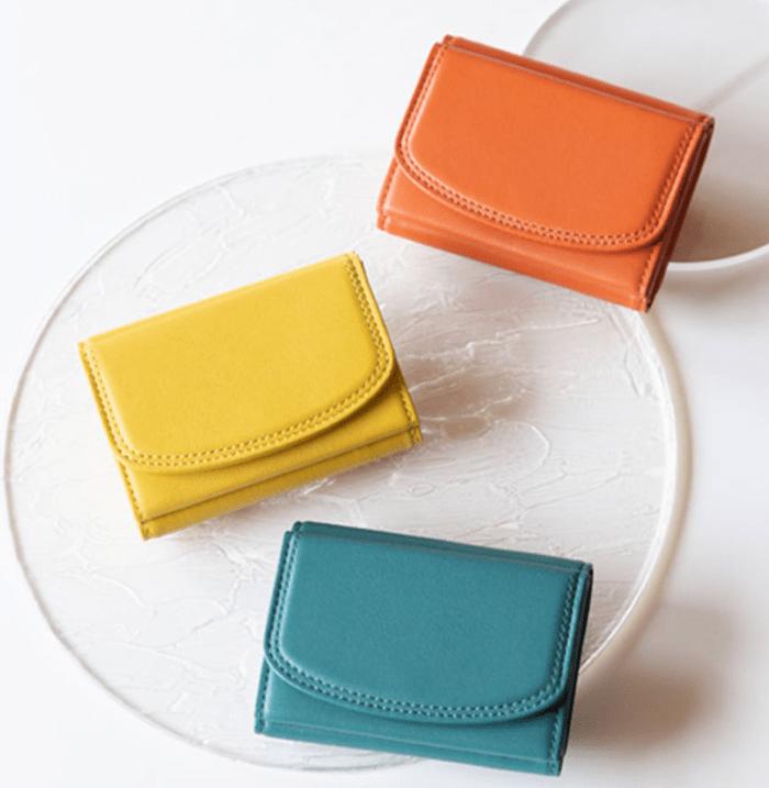 土屋鞄製造所のレディース三つ折り財布