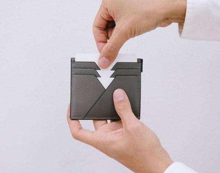 yuhakuのミニ財布のカード入れ部分