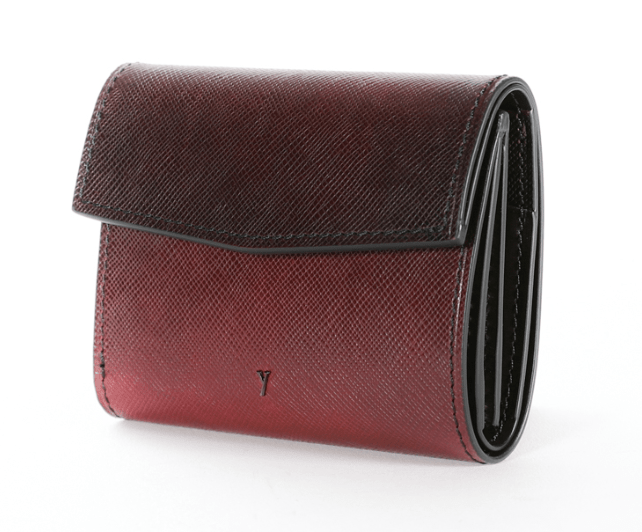 ユハクのレディース三つ折り財布