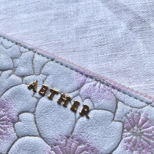 エーテルの革財布は縫製が丁寧