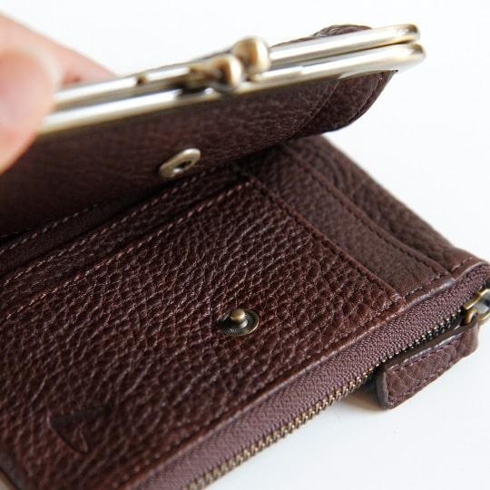 母の日ギフトにおすすめの土屋鞄製造所の財布の革の質感