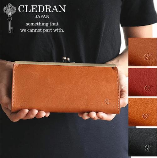 CLEDRANレディース長財布のバナー