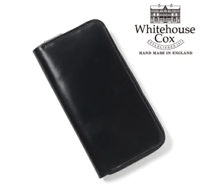 ホワイトハウスコックスのメンズ長財布