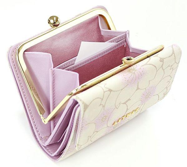 エーテルのレディースがま口財布の小銭入れ部分