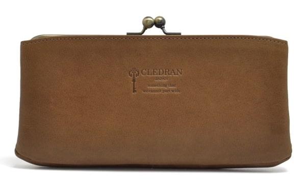クレドランのレディースがま口財布